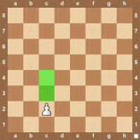 pawn starting move